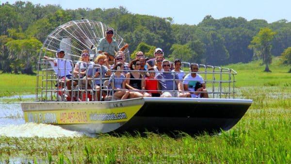 Wild Florida Airboat rides